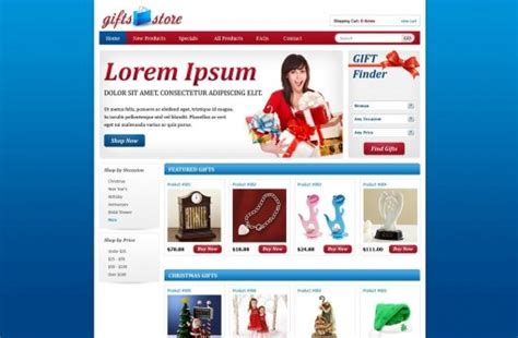 book online store template free ecommerce website
