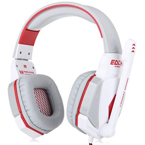 Headset Each G4000 each g4000 3 5mm usb new gaming headset led stereo