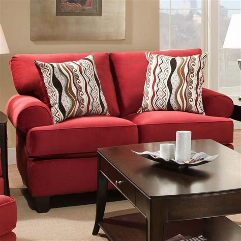 corinthian loveseat corinthian 47b0 casual and contemporary living room