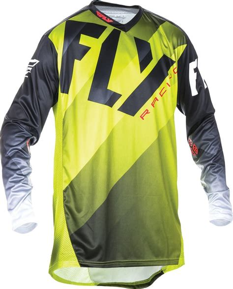 fly racing motocross 26 74 fly racing mens lite hydrogen jersey 998370