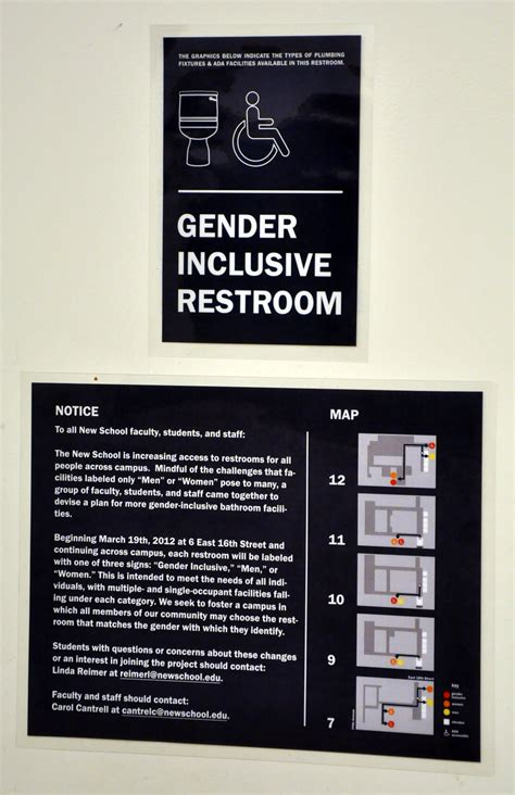 gender inclusive bathrooms arrive at the new school the