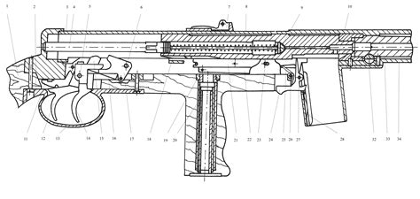 thompson cross section mors wz 39 smg forgotten weapons