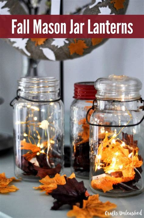 diy decorations with jars diy fall centerpieces you will fall in with