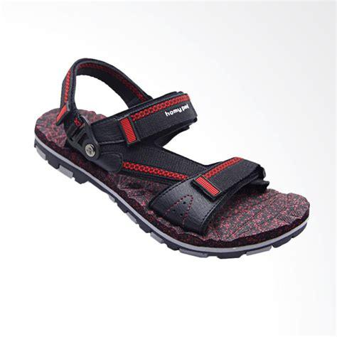 Sandal Santai Pria Ad39 02 jual homyped merbabu sandal pria black 02 harga kualitas terjamin blibli