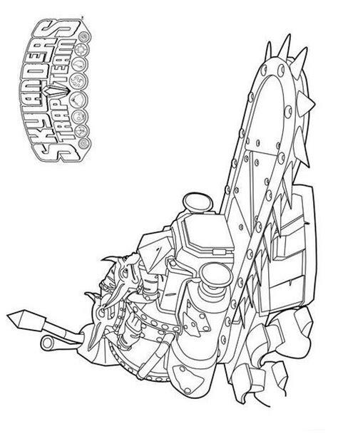 35 Skylanders Trap Team Coloring Pages Coloringstar Skylanders Trap Team Coloring Pages
