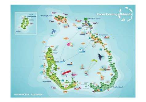 coco island resort map cocos keeling islands visitor centre picture of cocos