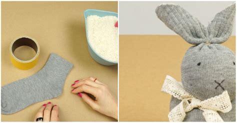 easter craft  sew sock bunny iseeidoimake