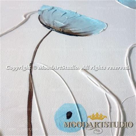 quadro fiori moderno quadro moderno di fiori in rilievo dipinto a mano per la