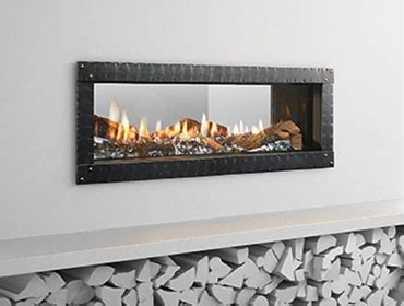see thru ventless gas fireplace gas fireplaces heat glo