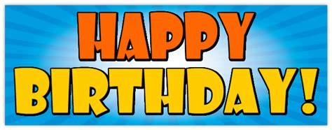 design happy birthday sign birthday party banners celebration banner