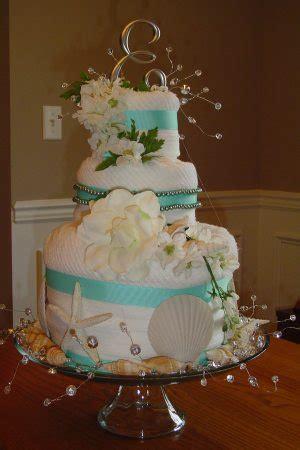 bridal shower towel cake decorations planning a theme wedding topweddingsites