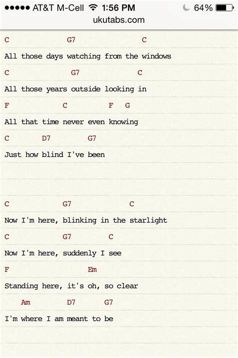 Lyrics To At Last I See The Light by 17 Bedste Id 233 Er Til Disney Songs P 229 Disney Og
