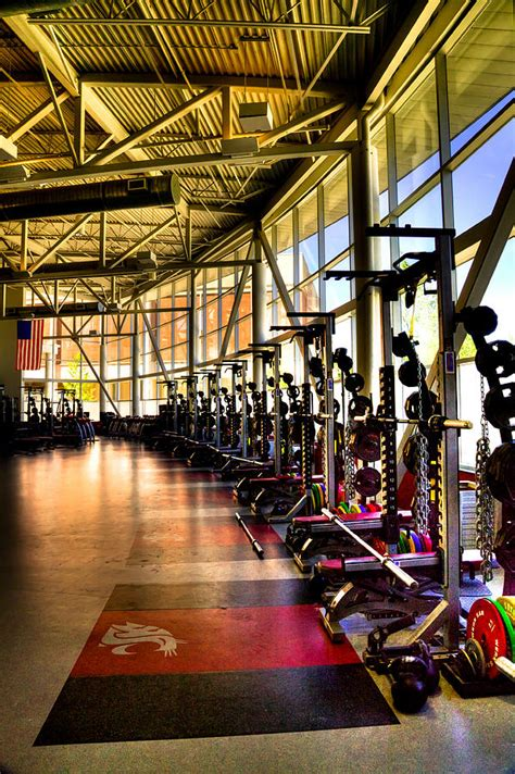 the weight room the weight room washington state photograph by david patterson