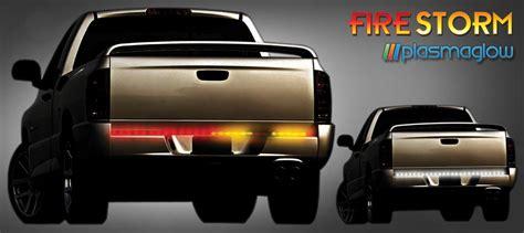firestorm scanning led tailgate light bar firestorm scanning led tailgate bar plasmaglow