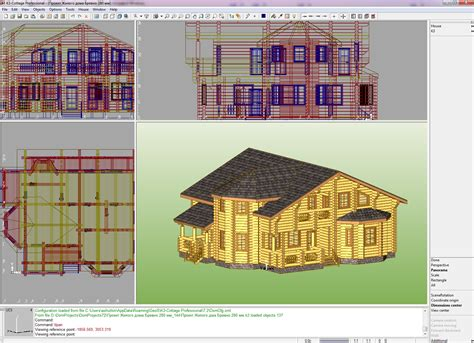 3d Home Design Software Free Download For Win7 by K3 Cottage Free Download K3 Cottage 7 2 3d Modeling Amp Cad Multimedia