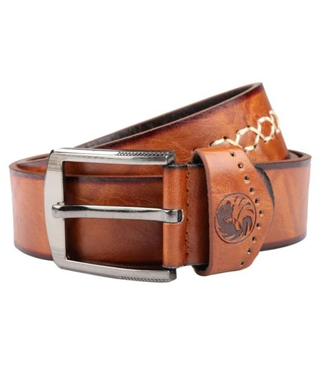 isweven brown casual pin buckle belt for buy