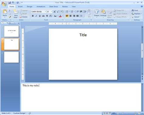 tutorial microsoft excel ppt image gallery normal view