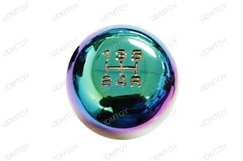 Neo Chrome Gear Knob by Ijdmtoy Jdm Neo Chrome 5mt 6mt Manual Replacement
