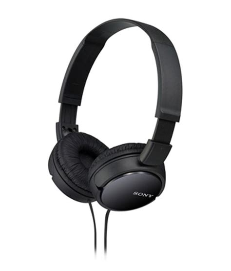 Headphone Sony Mdr Zx550bn sony mdr zx110 on ear wired headphones without mic black buy sony mdr zx110 on ear wired