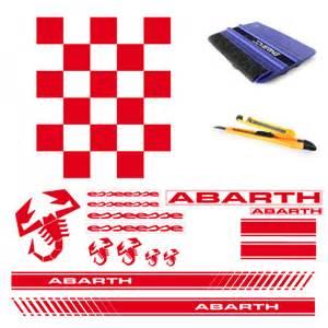 Fiat Abarth Stickers Stickers Abarth
