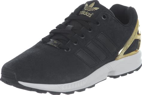 Adidas Zx Flux adidas zx flux w shoes black gold