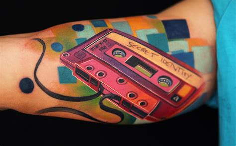 cassette tape tattoo traditional cassette www pixshark
