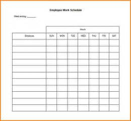 work schedule template docs 7 blank schedule template wedding spreadsheet