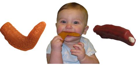 Appeteether Chompin Chicken Wing appeteether bpa free teething toys from toader baby