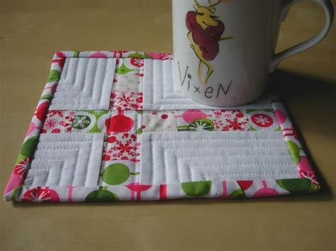 Quilted Mug Rug Patterns by Quilted Mug Rugs Patterns Diy Projects I Swear I M Gonna