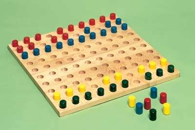 pegboard with colored pegs pediatric peg boards