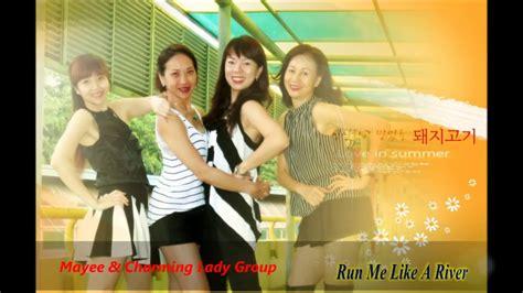 tutorial dance river run me like a river line dance tutorial 28 4 17 youtube