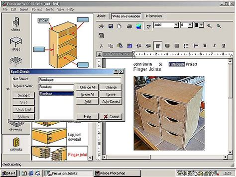woodworking design software design technology wood joints by focus educational software