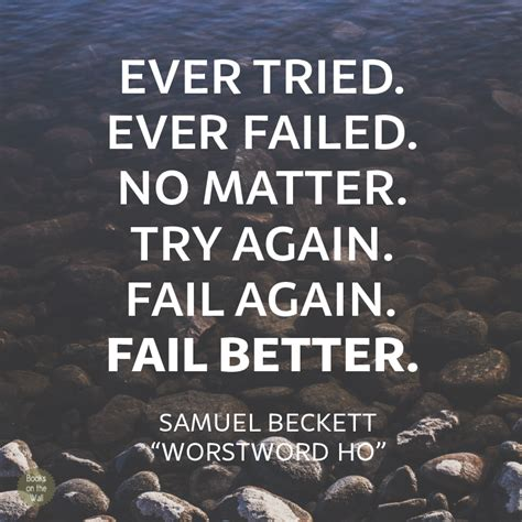 fail better quote words wednesday archives books on the wall