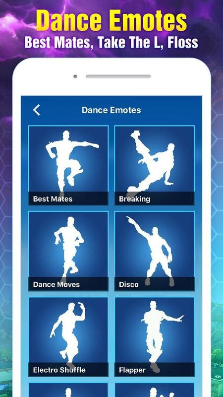 fortnite stats tracker stats tracker for fortnite dances emotes for android