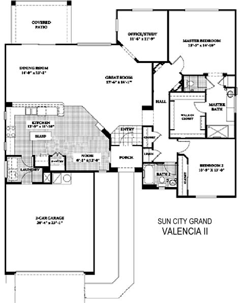 phoenix west ii floor plans sun city grand floor plans nancy muslin