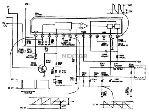 Toshiba Ta7335p sawtooth wave generator schematic get free image about