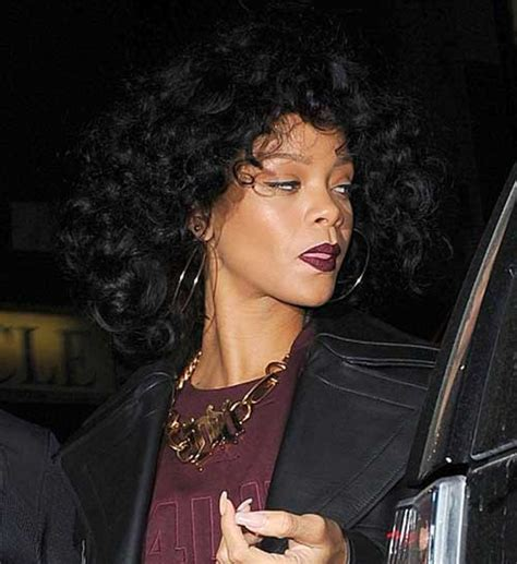 Rihanna Curly Hairstyles by 15 Rihanna Curly Hair Hairstyles 2017 2018