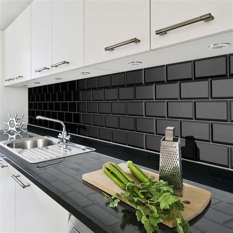 Bathroom Tile For Sale by Bevelled Brick Black 10x20 Cm Ceramic Wall Tile By Fabresa