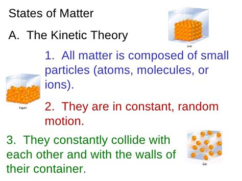in this matter or on this matter states of matter ppt