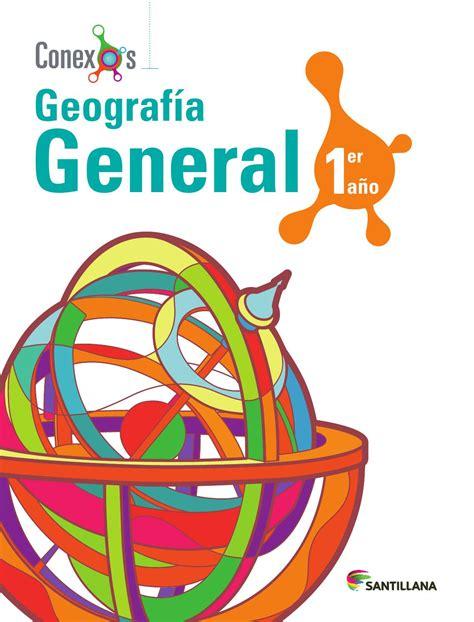 geografa general i geograf 237 a general 1er a 241 o by santillana venezuela issuu