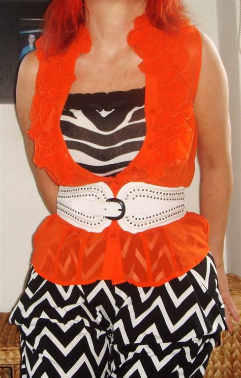 Philodendron Orange By Fab Outlet black white orange thefashionatetraveller