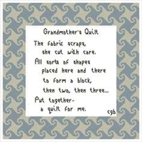 Baby Quilt Poem by 1000 Images About Quilt Poems On Quilt Labels