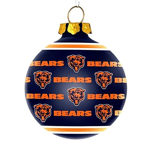 chicago bears christmas tree ornaments christmas