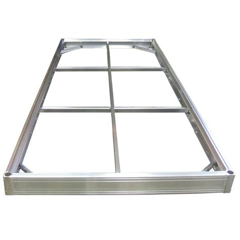aluminum floating boat dock kits multinautic qpf495 5 ft x 10 ft aluminum dock kit 21519