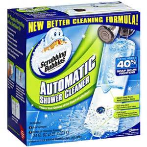 scrubbing bubbles automatic shower bathroom cleaner 34 fl