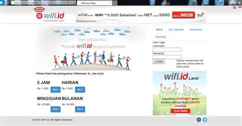 Wifi Id Terbaru cara wifi id login terbaru gratis bagus java