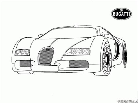 coloring pages crashed cars disegni da colorare bugatti italy