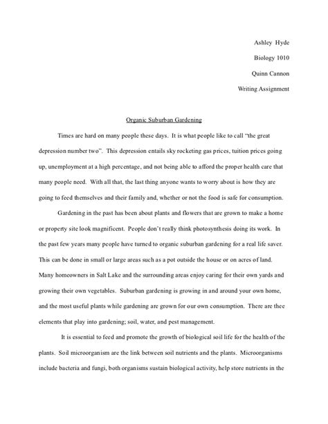 biology research paper exle term paper biology