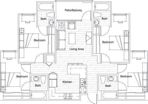 vista del sol floor plans floor plans vista del sol student housing tempe az