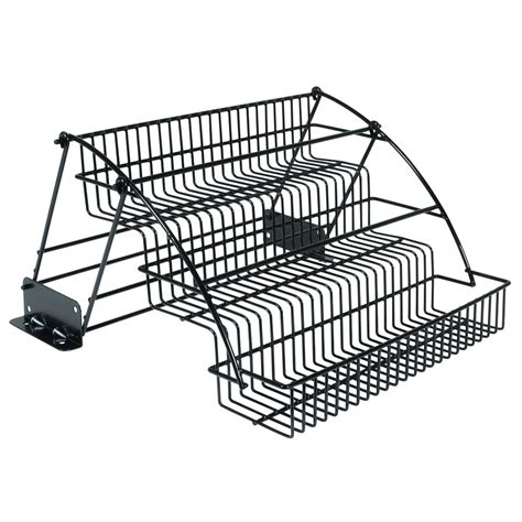 shop rubbermaid coated wire in cabinet spice rack at lowes